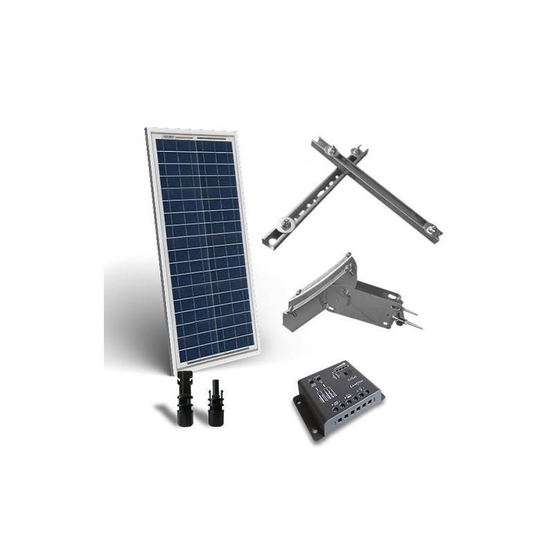 KIT SOLAR PLUS 30W / 180W zi CU SUPORT PRINDERE - Panouri Fotovoltaice