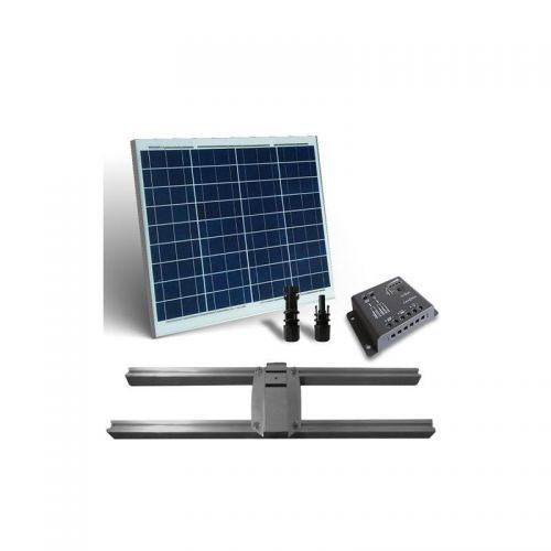 KIT SOLAR PLUS 50W / 300W zi CU SUPORT PRINDERE