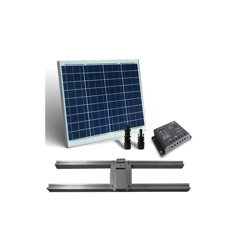 KIT SOLAR PLUS 50W / 300W zi CU SUPORT PRINDERE - Panouri Fotovoltaice