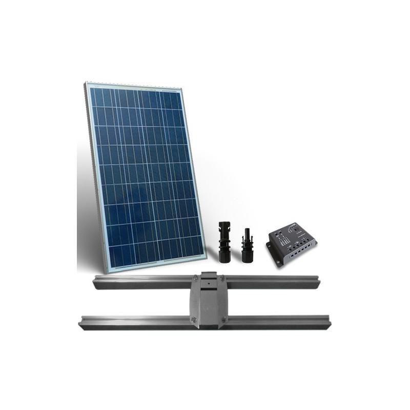 KIT SOLAR PLUS 80W SUPORT PRINDERE / 480W zi - Panouri Fotovoltaice