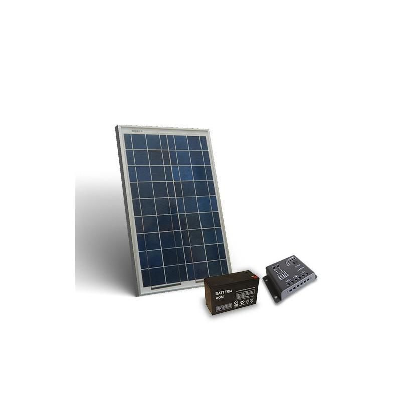 KIT SOLAR PRO 10W 12V/50W zi - Panouri Fotovoltaice