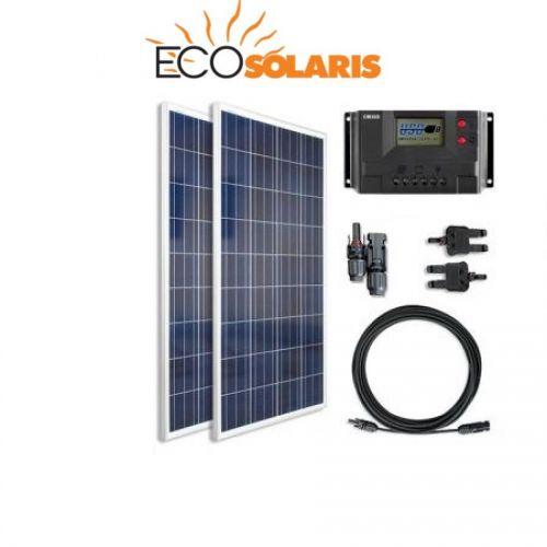 Kit fotovoltaic rulota 200W poli (1200W/zi)