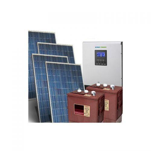 Kit Fotovoltaic Off-Grid 20.8Kw 48V Baterii Trojan