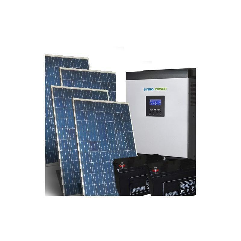 Kit Fotovoltaic Off-Grid 31.2Kw 48V Baterii AGM - Panouri Fotovoltaice