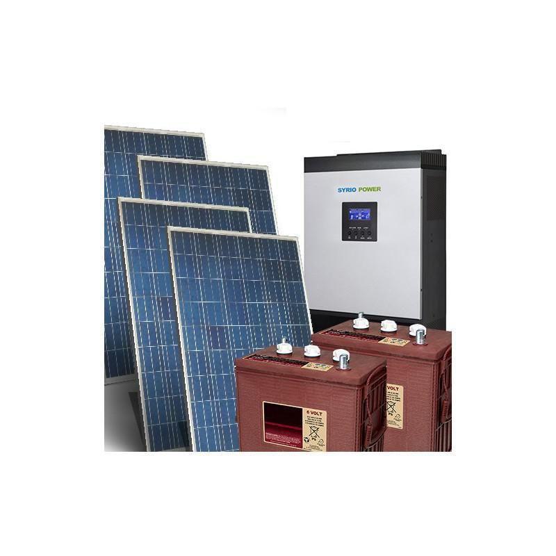 Kit Fotovoltaic Off-Grid 31.2Kw 48V Baterii Trojan - Panouri Fotovoltaice