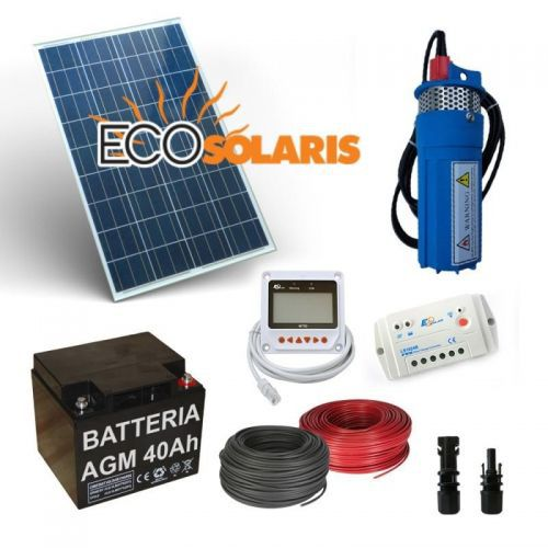 Kit Solar Irigatie 170L/H 12V - Panouri Fotovoltaice