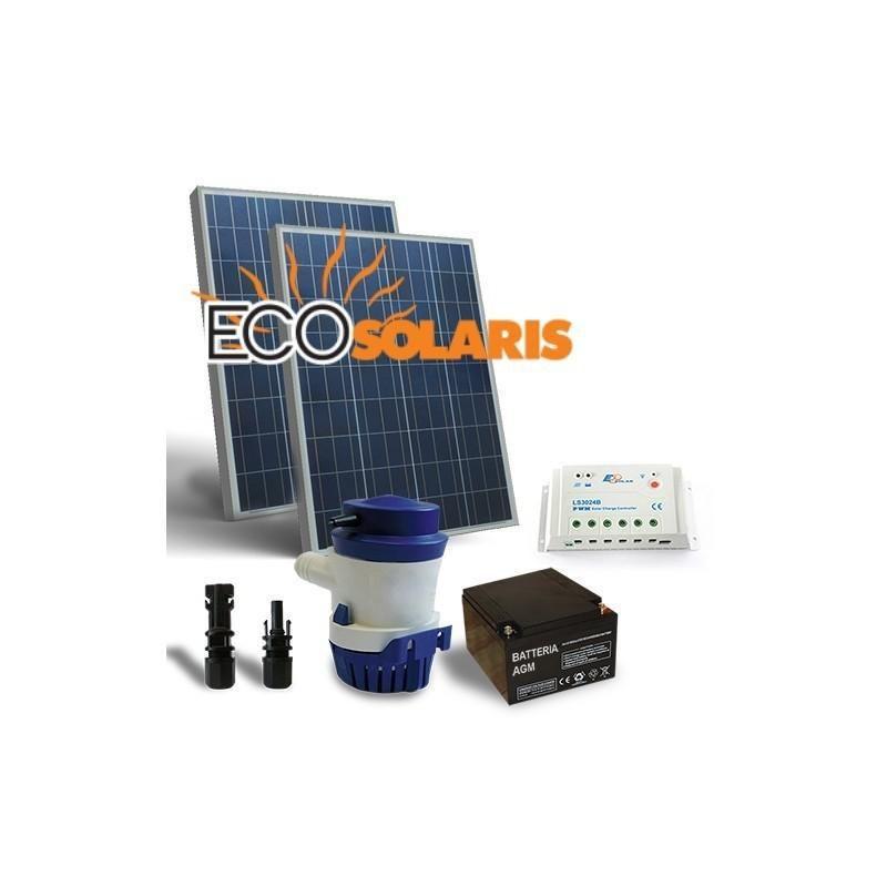 Kit Solar Irigatie 94L/M 12V - Panouri Fotovoltaice