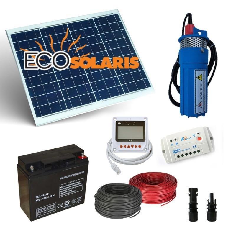 Kit Solar Irigatii 190L/H 12V - Panouri Fotovoltaice