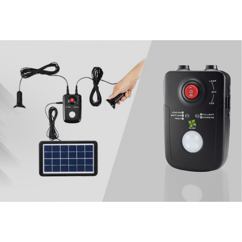 Solar Light Solution Pentru iluminat si incarcat telefon SL 1 - Panouri Fotovoltaice