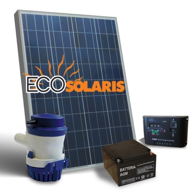 Kit Solar fotovoltaic Irigatie 32L/M 12V 20W mono - Panouri Fotovoltaice