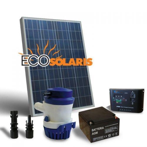 Kit Solar fotovoltaic Irigatie 63L/M 12V 50Wp - Panouri Fotovoltaice
