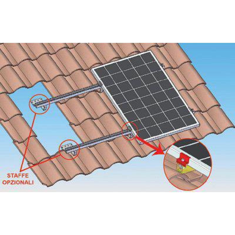 Kit fixare 5 panouri fotovoltaice - Panouri Fotovoltaice