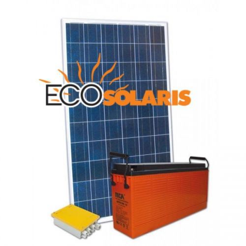 Kit fotovoltaic Off-Grid 12V 230Wh
