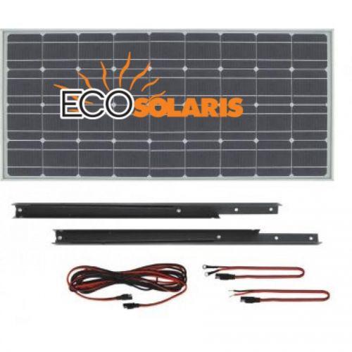 Kit fotovoltaic pentru rulota de 100W mono