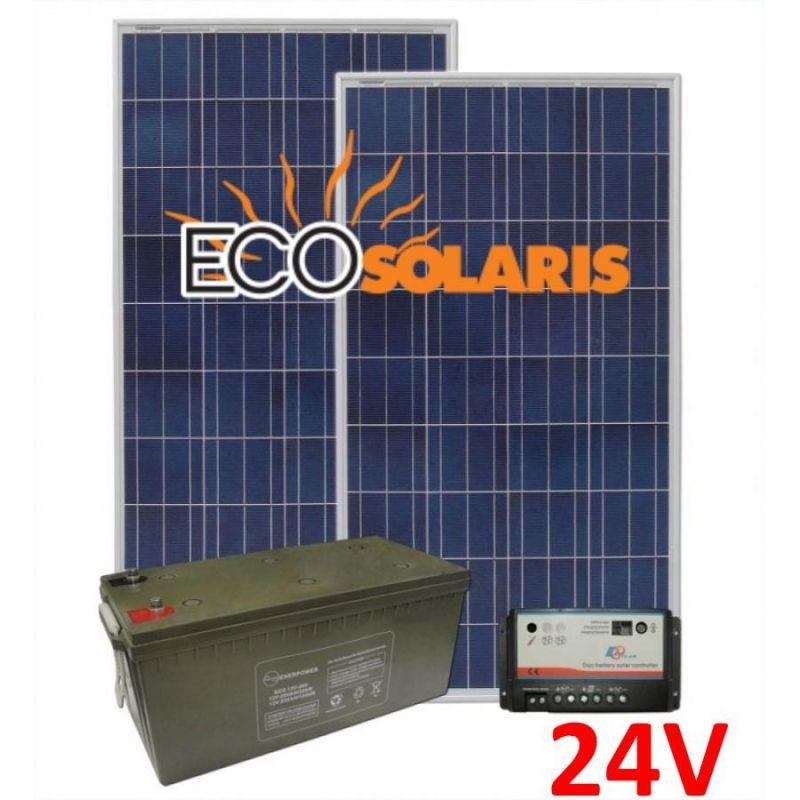 Kit solar fotovoltaic Off-Grid 1040Wp 24V 5200W/zi - Panouri Fotovoltaice