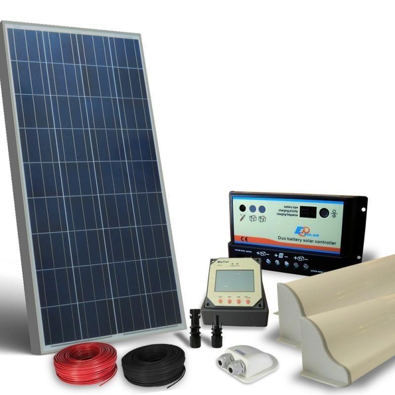 Kit Pannello Solare Moove 100w : Kit solar fotovoltaic rulota camping w