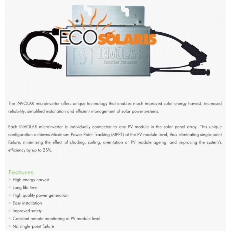 Mini Invertor on grid 250W - Panouri Fotovoltaice