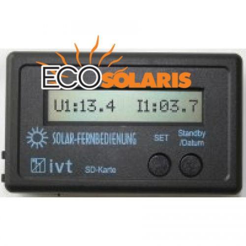 Modul cu display si telecomanda pentru controler MPPT