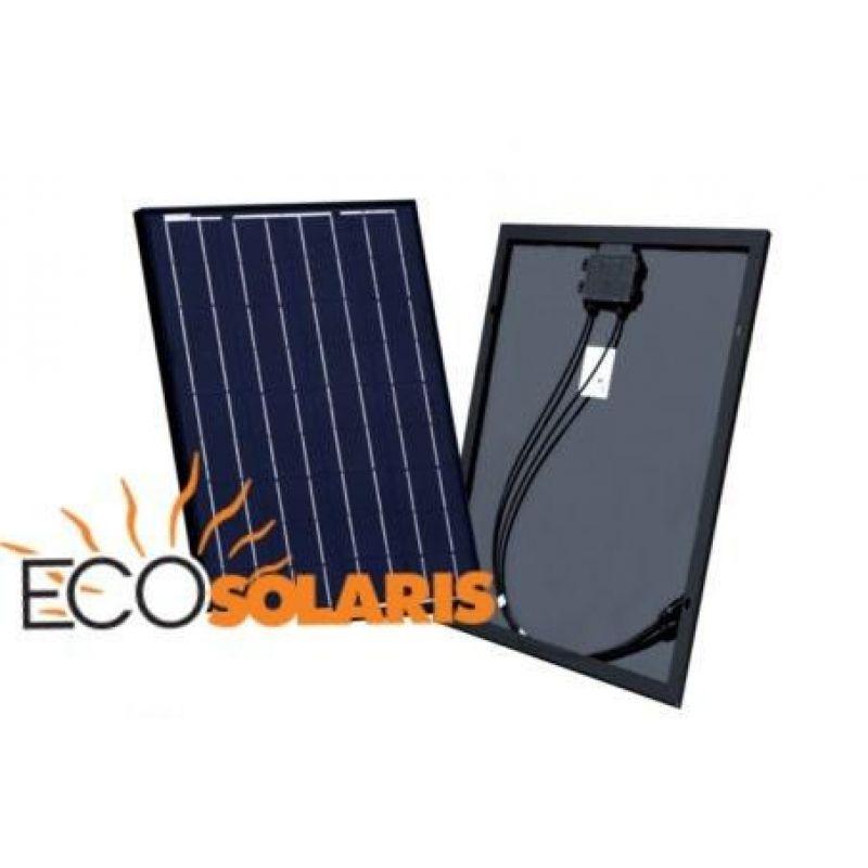 Panou Solar Fotovoltaic 50W Black - Panouri Fotovoltaice