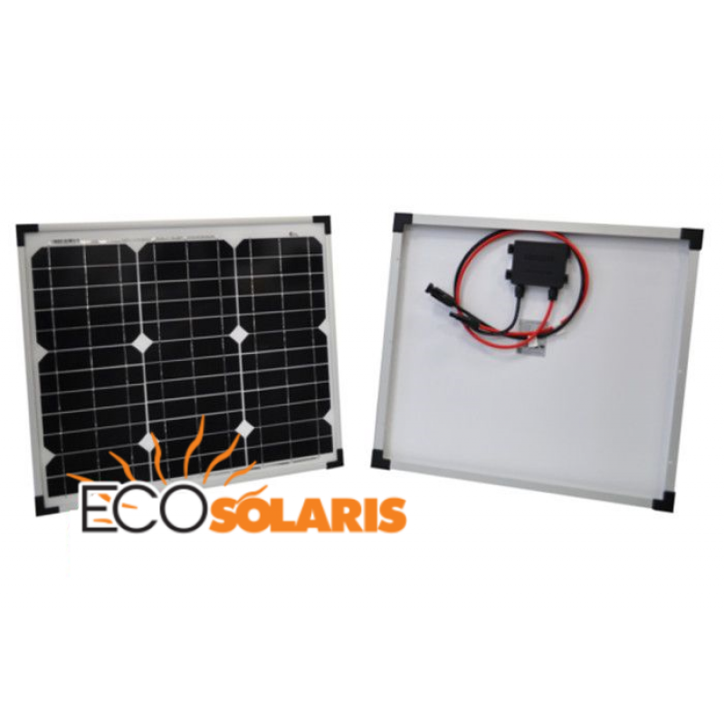 Panou fotovoltaic 30 W Monocristalin