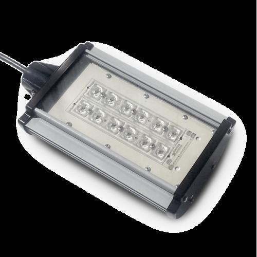 Proiector iluminat stradal cu 24 LED-uri 50W 12V/24V