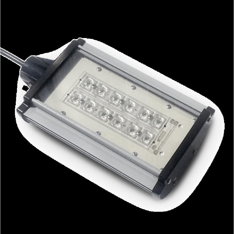 Proiector iluminat stradal cu 24 LED-uri 50W 12V/24V - Panouri Fotovoltaice