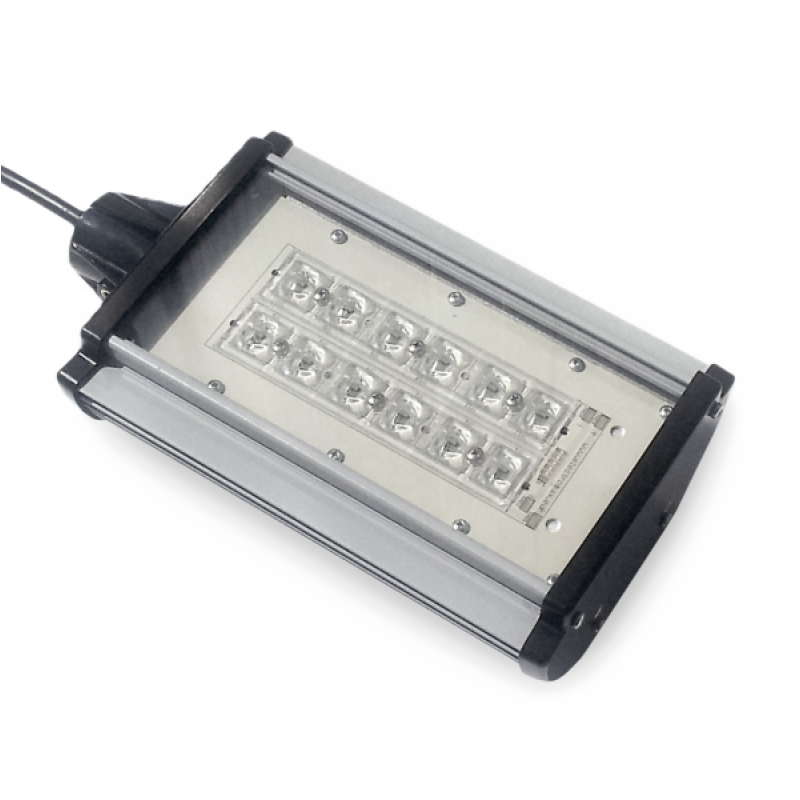 Proiector iluminat stradal cu 24 LED-uri 70W 12V/24V - Panouri Fotovoltaice