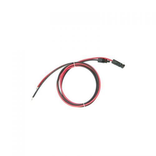 Set cablu solar 5ml grosime 4mm sertizat cu mufe mc4