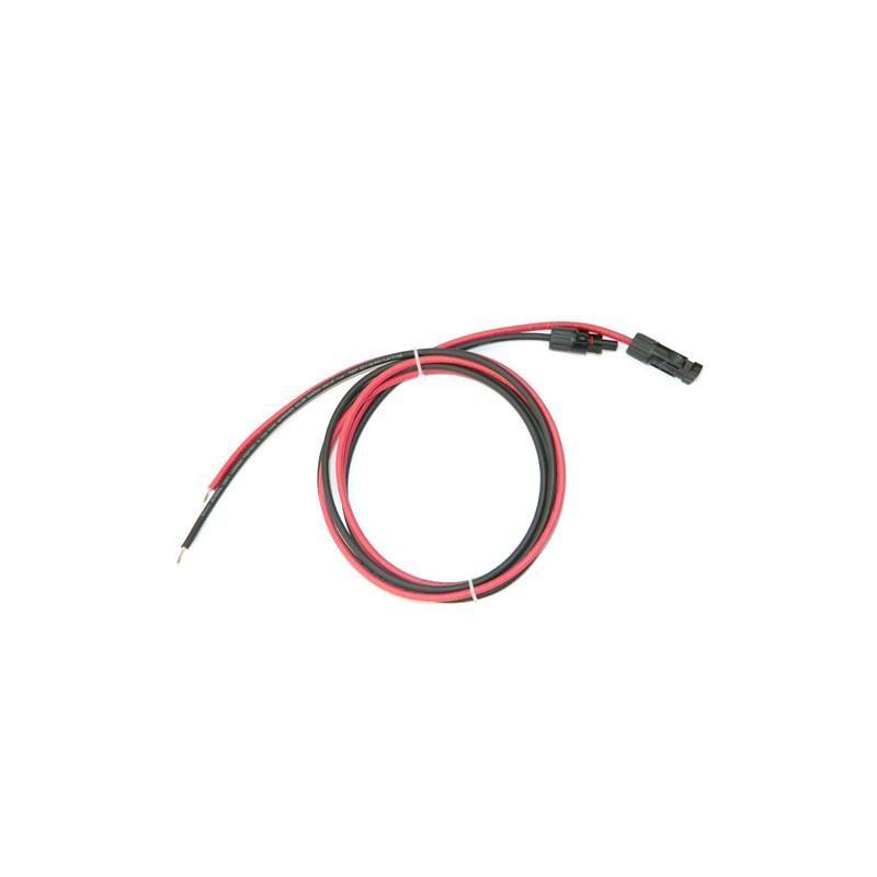 Set cablu solar 5ml grosime 6mm sertizat cu mufe mc4 - Panouri Fotovoltaice