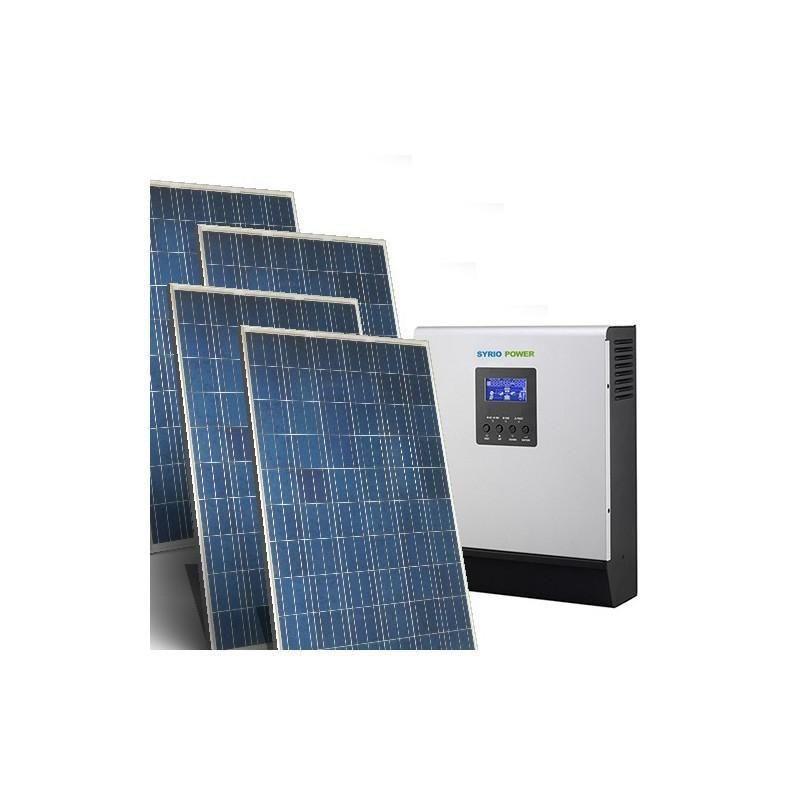 SISTEM SOLAR FOTOVOLTAIC PENTRU CASA 24V / 1.5KW / 9KW ZI - Panouri Fotovoltaice