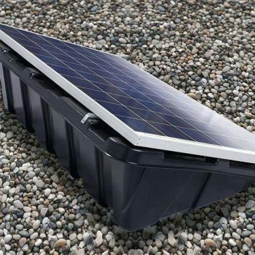 Sistem fixare din plastic moale pentru sisteme fotovoltaice CS+