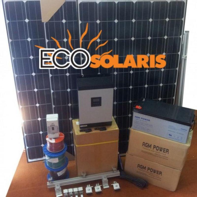 Sistem fotovoltaic Hibrid 2kwp 24V 2Kw / 12Kw zi - Panouri Fotovoltaice
