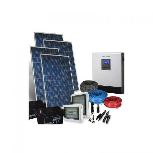 Sistem fotovoltaic Hibrid  960Wp Off Grid-12V-5.7Kw-zi