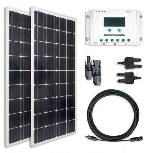 Sistem fotovoltaic Off Grid 12V 260Wp  1500W / zi