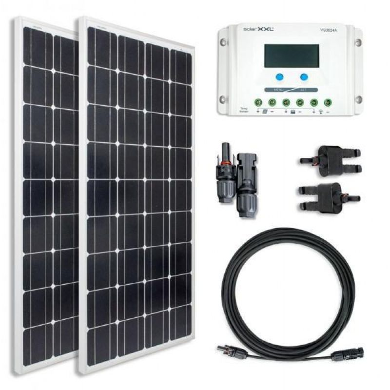 Sistem fotovoltaic Off Grid 12V 260Wp  1500W / zi - Panouri Fotovoltaice
