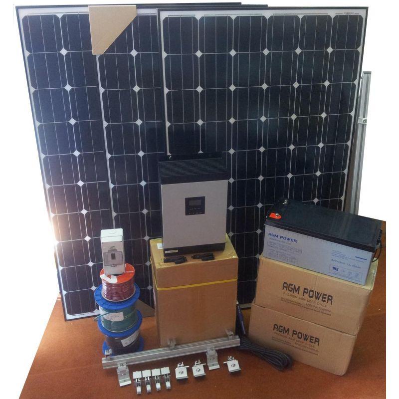Sistem fotovoltaic off grid 12V 1440W / zi - Panouri Fotovoltaice
