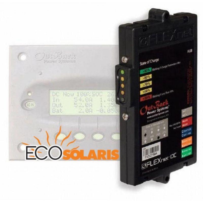 Sistem monitorizare OutBack Power's FLEXnet DC - Panouri Fotovoltaice