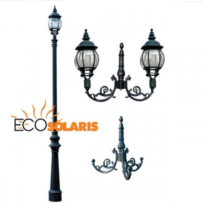 Stalp de iluminat Classic - Panouri Fotovoltaice