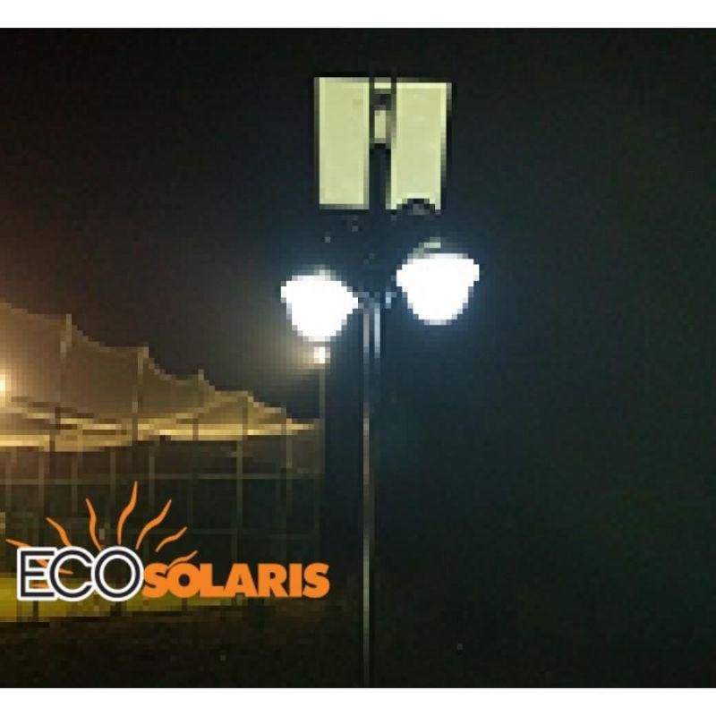 Stalp de iluminat solar 2x5W - Panouri Fotovoltaice