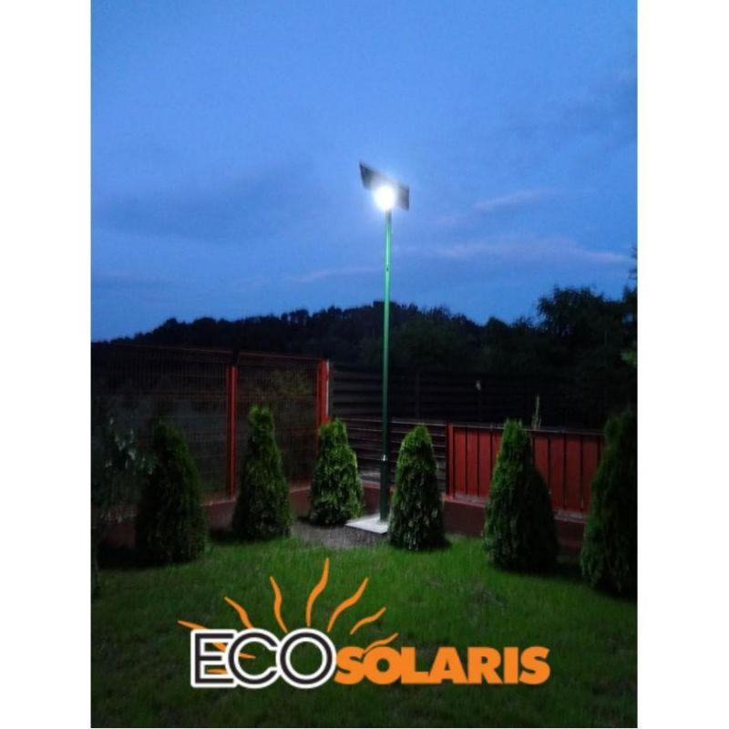 Stalp de iluminat solar 30W (independent) - Panouri Fotovoltaice