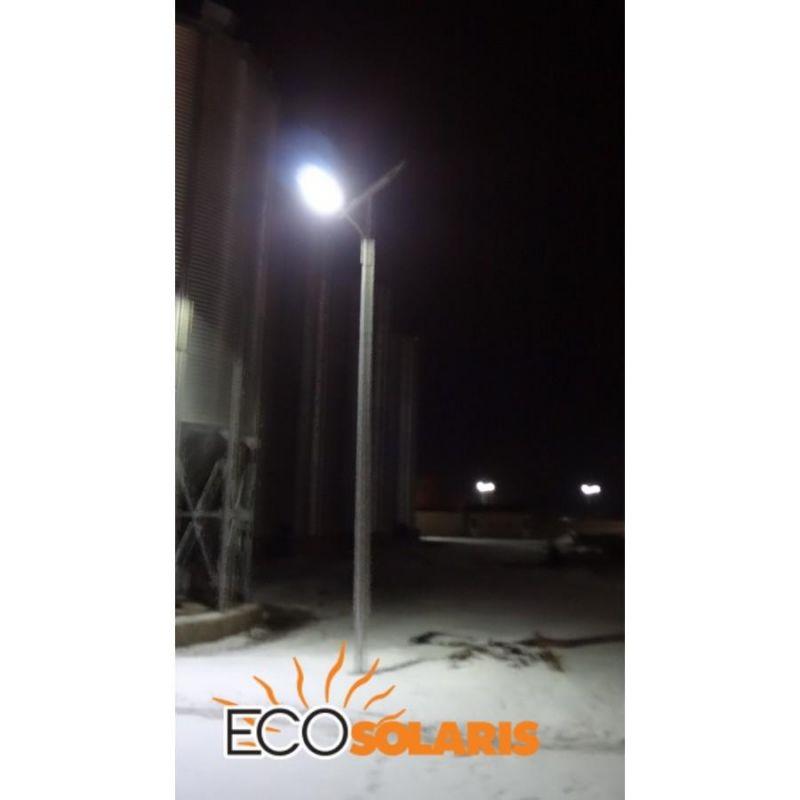 Stalp de iluminat solar 30W - 6 metri - Panouri Fotovoltaice