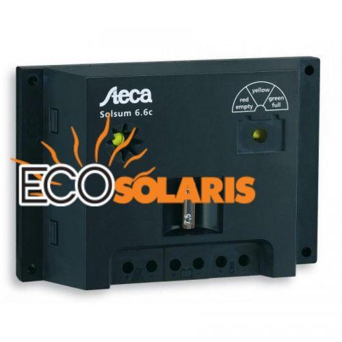 Controler Steca Solsum 6.6F 6A/12-24V - Panouri Fotovoltaice