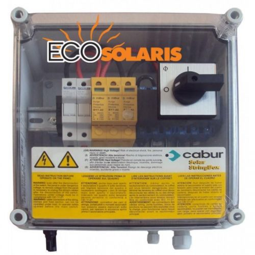 Tablou protectie fotovoltaice 1 string - Panouri Fotovoltaice