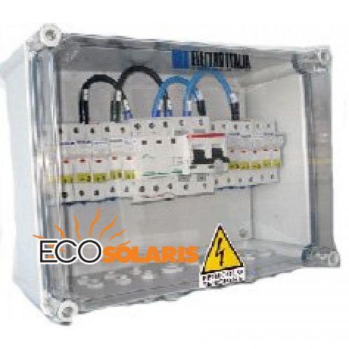 Tablou protectie fotovoltaice 6-2 string
