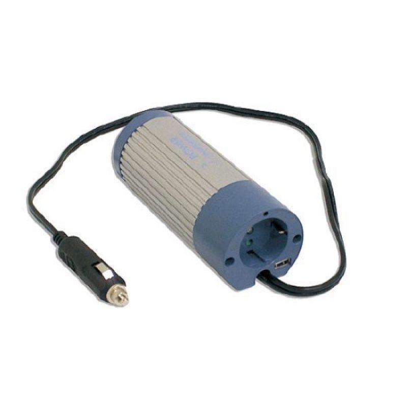 Invertor Off-Grid Sinus Modificat Meanwell 24V/230V 100W - Panouri Fotovoltaice