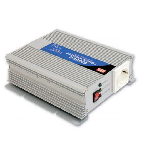 Invertor Off-Grid Sinus Modificat Meanwell 12V/230V 600W