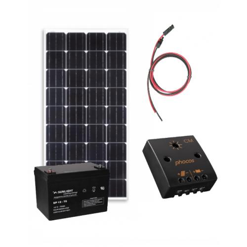 Kit solar fotovoltaic Off-Grid 260W/12V 1300W/zi