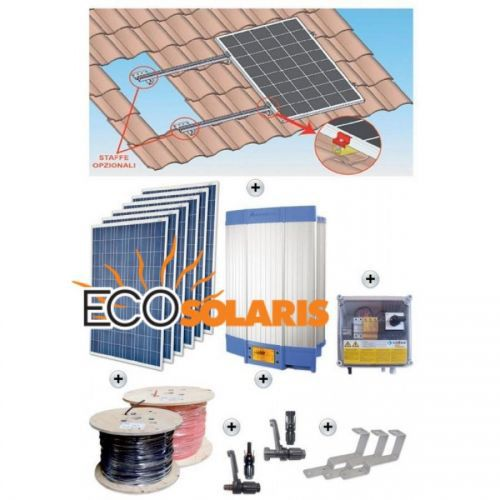 Kit On-Grid complet 2960Wh - Panouri Fotovoltaice