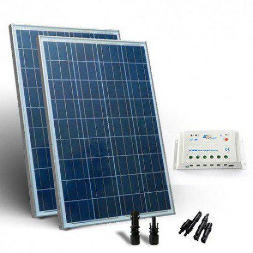 KIT SOLAR  BASE 260W PANOU SOLAR CONTROLER 12V 20A - PWM