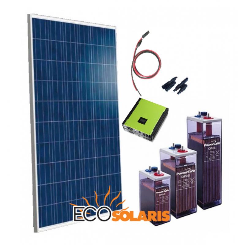 Sistem Fotovoltaic 48V 4kW 20.8KW/zi -Hibrid Trifazat - Panouri Fotovoltaice